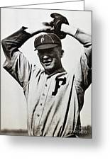 Grover Cleveland Alexander Greeting Card