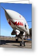 Grumman F-14a Tomcat Fighter Jet Plane . 7d11213 Greeting Card