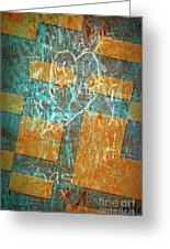 Grunge Background 6 Greeting Card
