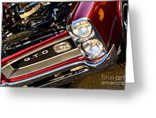 GTO Greeting Card