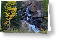 Guanella Falls Greeting Card