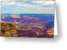 Guardians Of The Canyon Greeting Card