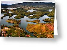 Guatape Greeting Card