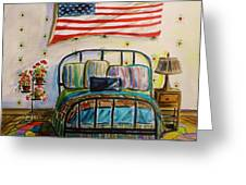 Guest Bedroom Greeting Card