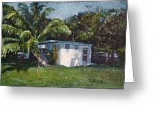 Guest House In Aguada Greeting Card