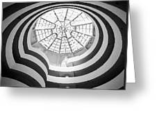 Guggenheim Museum Bw200 Greeting Card by Scott Kelley