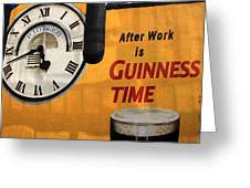 Guinness Beer 1 Greeting Card