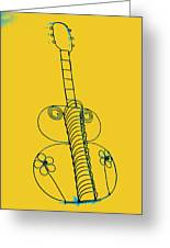 Guitar 2 Greeting Card by Mauro Celotti