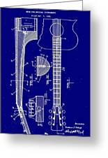 Gibson Guitar Truss Rod Patent 1923 Greeting Card