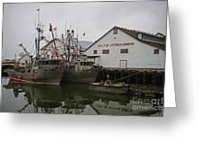 Gulf Of Georgia Co. Greeting Card