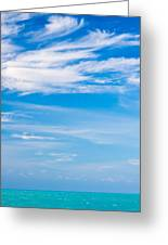 Gulf Serenity  Greeting Card