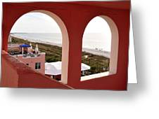 Gulf View Greeting Card