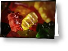 Gummi Bears Greeting Card by Rick Berk