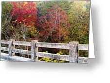 Gunner Bridge Greeting Card