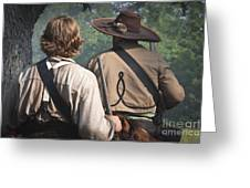 Guns By Our Side We Ride Greeting Card