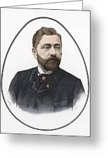 Gustave Eiffel, French Architect Greeting Card