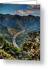 H-3 From The Aiea Loop Trail Greeting Card
