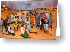 Haboba2 Greeting Card by Negoud Dahab