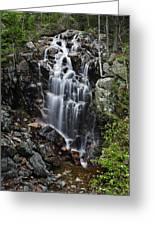 Hadlock Falls Acadia Greeting Card