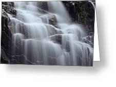 Hadlock Falls II Greeting Card