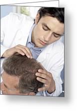 Hair Transplant Consultation Greeting Card