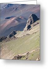 Haleakala Cinder Cone 2 Greeting Card