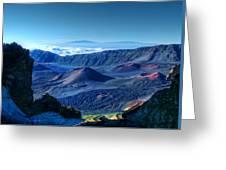 Haleakala Crater 1 Greeting Card by Ken Smith