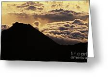 Haleakala First Light Greeting Card