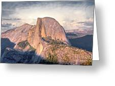Half Dome Portrait Greeting Card