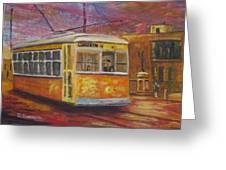 Halifax Trolley Greeting Card