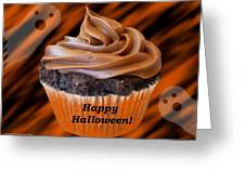 Halloween Cupcake Greeting Card
