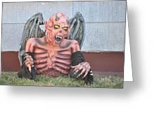 Halloween In Alameda Greeting Card