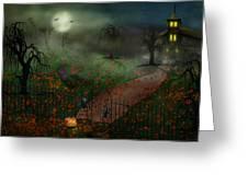 Halloween - One Hallows Eve Greeting Card