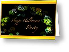 Halloween Party Greeting Card