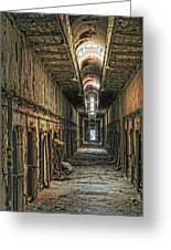 Hallway Eastern State Penitentiary  Greeting Card