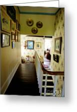 Hallway In Home Of Anna Jarvis Greeting Card