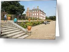 Ham House - Gardens Greeting Card by Donald Davis