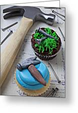 Hammer Cupcake Greeting Card