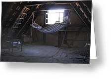Hammock In The Attic Greeting Card