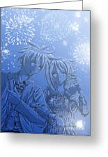 Hanabi Greeting Card