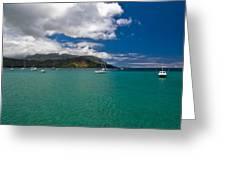 Hanalei Bay Kauai Greeting Card