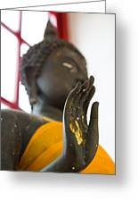 Hand Of Buddha Statue Greeting Card