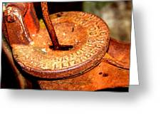 Hand Pump - Water Pump - Well Pump Greeting Card