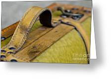 Handle On A Suitcase  Greeting Card