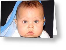 Handsome Baby Boy Greeting Card
