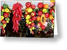 Hanging Food Greeting Card