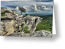 Hanging In North Carolina Greeting Card