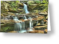 Hanging Rock Cascades Greeting Card
