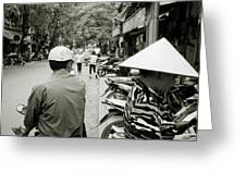 Hanoi In Vietnam Greeting Card