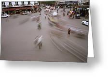 Hanoi Motion Greeting Card